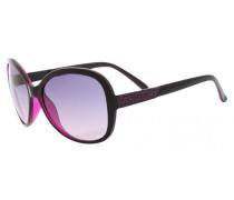 Sonnenbrille Gu7207-Blk-50 dunkelpink / schwarz