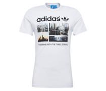Print Shirt 'photo 1' schwarz / weiß