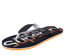 Slipper navy / orange