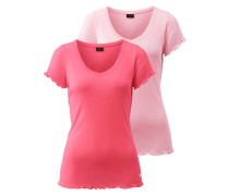 T-Shirts (2 Stck.) pink
