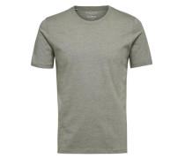 Rundhalsausschnitt-T-Shirt hellgrün