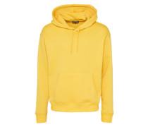 Kapuzensweatshirt gelb
