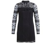 Spitzen-Kleid schwarz