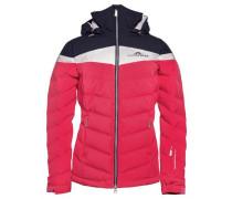 Crillon Down Jacket JL 2-Lagen-Daunenjacke blau / pink / weiß