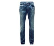 Jeans 'Slim Straight 2 Bupst' blau