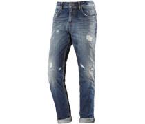 Mika Boyfriend Jeans Damen blue denim