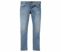 Straight-Jeans 'Grover' blue denim