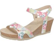Sandaletten mischfarben / naturweiß