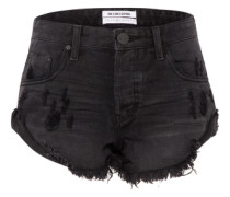Jeansshort 'Bandits' schwarz