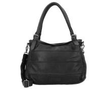 'Century' Handtasche Leder 37 cm schwarz