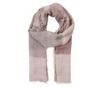 Schal mit Fransenkante pink