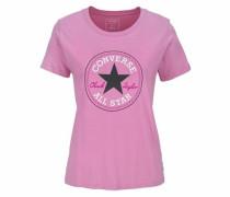 T-Shirt dunkelpink / schwarz / weiß