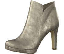 High Heel 'Ankle Boot' silber