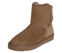Boots 'Uma Zip Bootie' braun