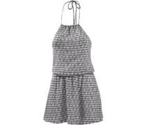 Tradewinds Minikleid Damen grau / weiß