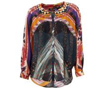 Oversized-Bluse von mischfarben