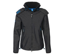 Übergangsjacke Hooded Cliff Hiker grau