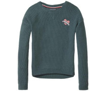 Pullover 'ame Solid Sweater' grün