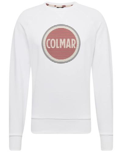 Sweatshirt rot / weiß