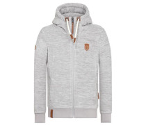 Male Zipped Jacket 'Mach Et Otze IV' grau