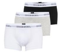 Pants im 3er-Pack grau / schwarz / weiß