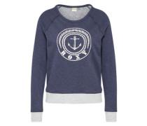 Sweatshirt creme / navy