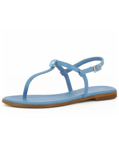 Evita Damen Sandale 'olimpia' blau