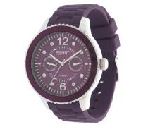 Armbanduhr Es105332017 lila / silber