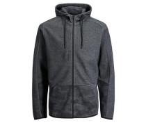 Trendiges Sweatshirt basaltgrau