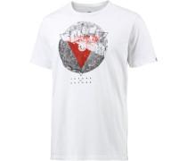 'Central' T-Shirt Herren weiß