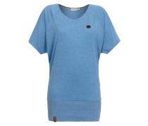 T-Shirt 'Katowice Mietze' blau