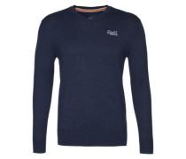 Pullover mit Kaschmir-Anteil blau