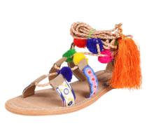 Sandalette 'Malibu' braun / mischfarben