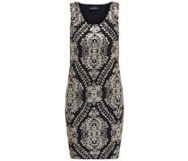 Pailletten-Kleid ohne Ärmel mischfarben