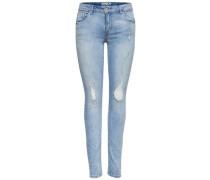 'Carmen' Skinny Fit Jeans blau
