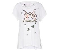 T-shirt 'Forever Love' weiß