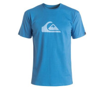 'Classic Everyday' T-Shirt blau / hellblau