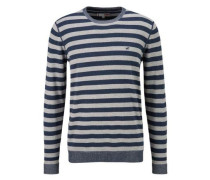 Pullover navy / grau