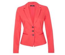 Stretch-Blazer mit Revers pink