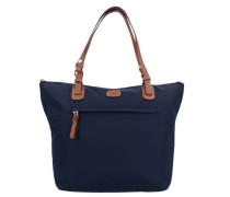X-Bag Handtasche 25 cm ultramarinblau