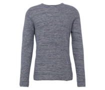Pullover 'two-tone honeycomb' dunkelblau