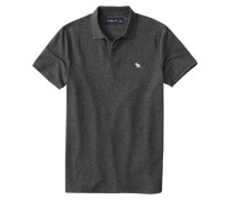 Shirt weiß / schwarzmeliert
