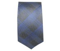 Krawatte ' Brown Label ' blau / basaltgrau
