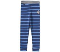 'capt'n Sharky' lange Unterhose blau / hellblau / grau