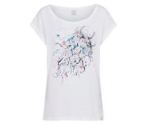 T-shirt 'Funky Jelly' weiß