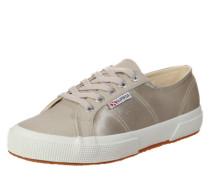 Satin-Sneaker beige