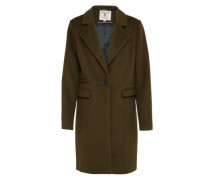Klassischer Mantel oliv