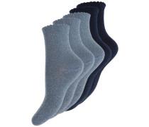 Socken 5er-Pack grau / schwarz