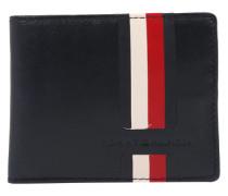 Brieftasche creme / navy / rot