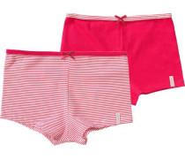 Panties Doppelpack für Mädchen pink